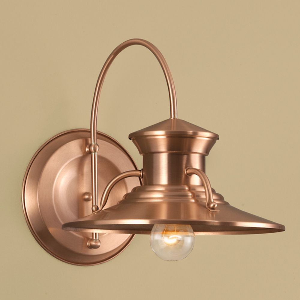 outdoor copper lights photo - 5
