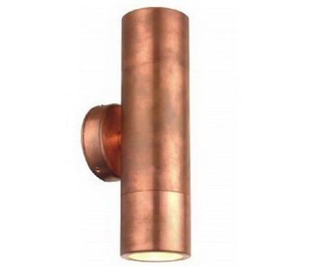 outdoor copper lights photo - 7