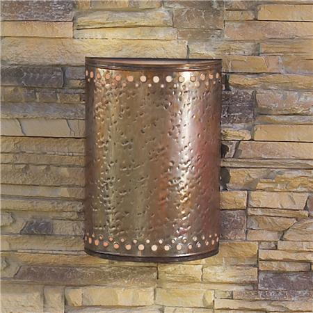 outdoor copper lights photo - 8