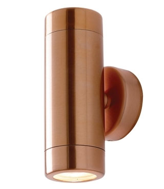 outdoor copper wall lights photo - 4