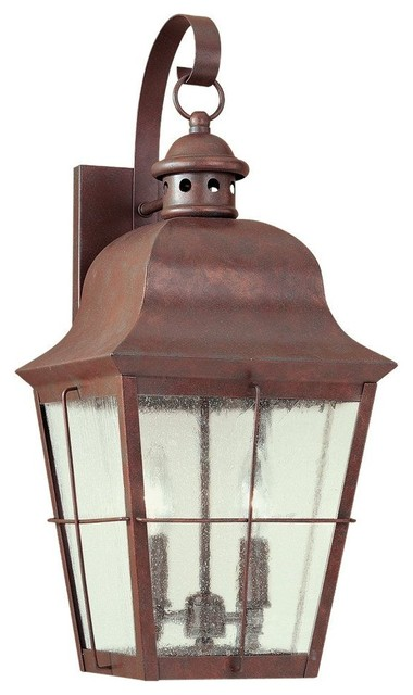 outdoor copper wall lights photo - 7