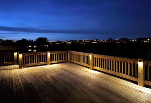 outdoor deck lights photo - 1