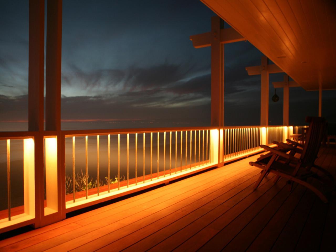 outdoor deck lights photo - 10