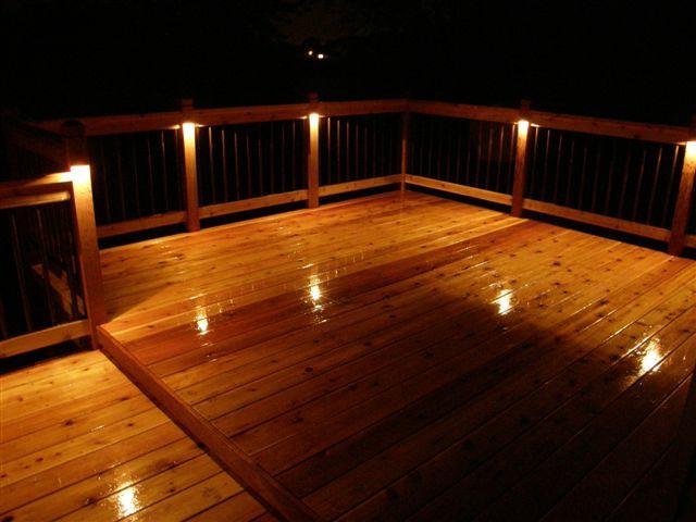 outdoor deck lights photo - 2