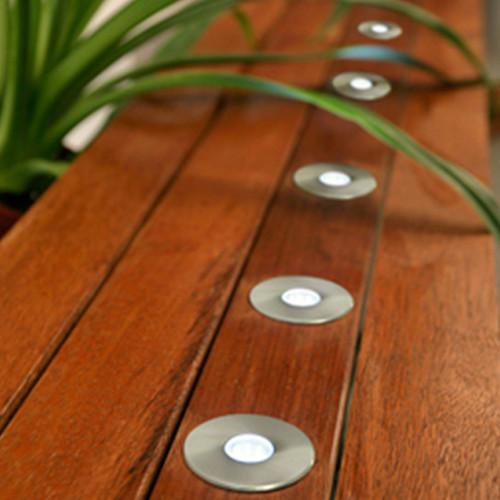 outdoor deck lights photo - 4