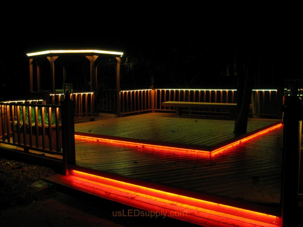 outdoor deck lights photo - 5