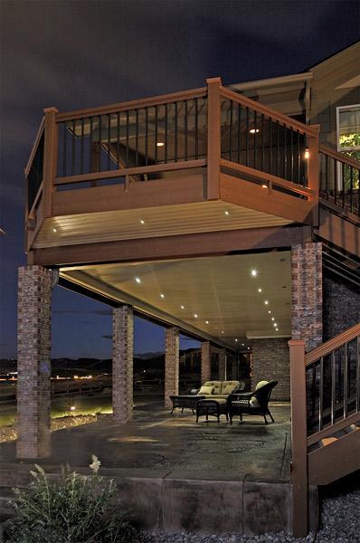 outdoor deck lights photo - 7