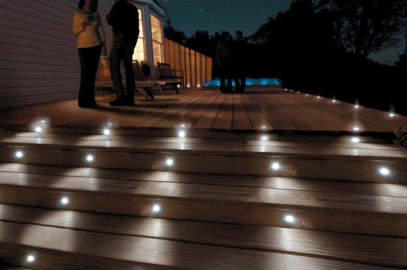 outdoor deck lights photo - 8
