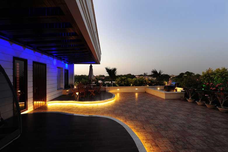 outdoor deck lights photo - 9