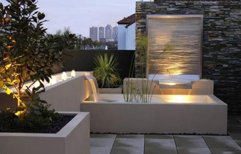 outdoor garden wall lights photo - 6