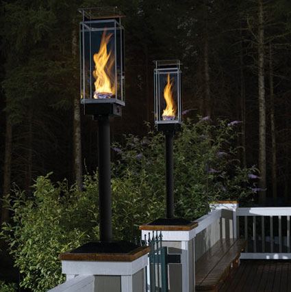 outdoor gas lights photo - 6