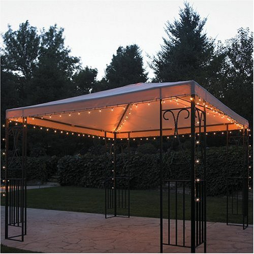 outdoor gazebo lights photo - 1