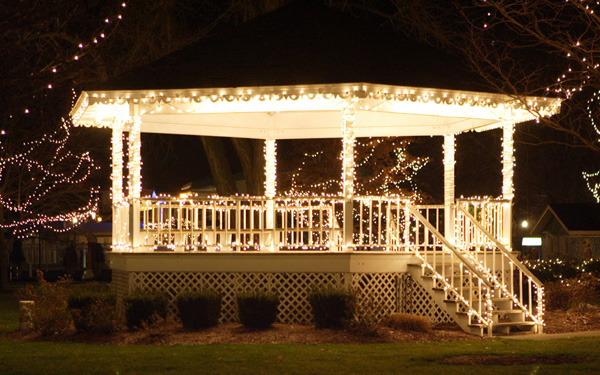 outdoor gazebo lights photo - 10