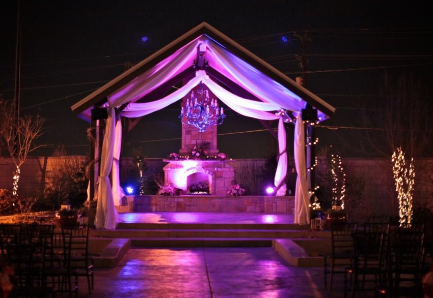 outdoor gazebo lights photo - 4