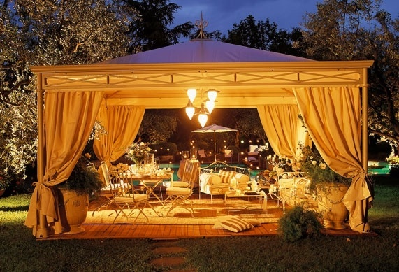 outdoor gazebo lights photo - 5