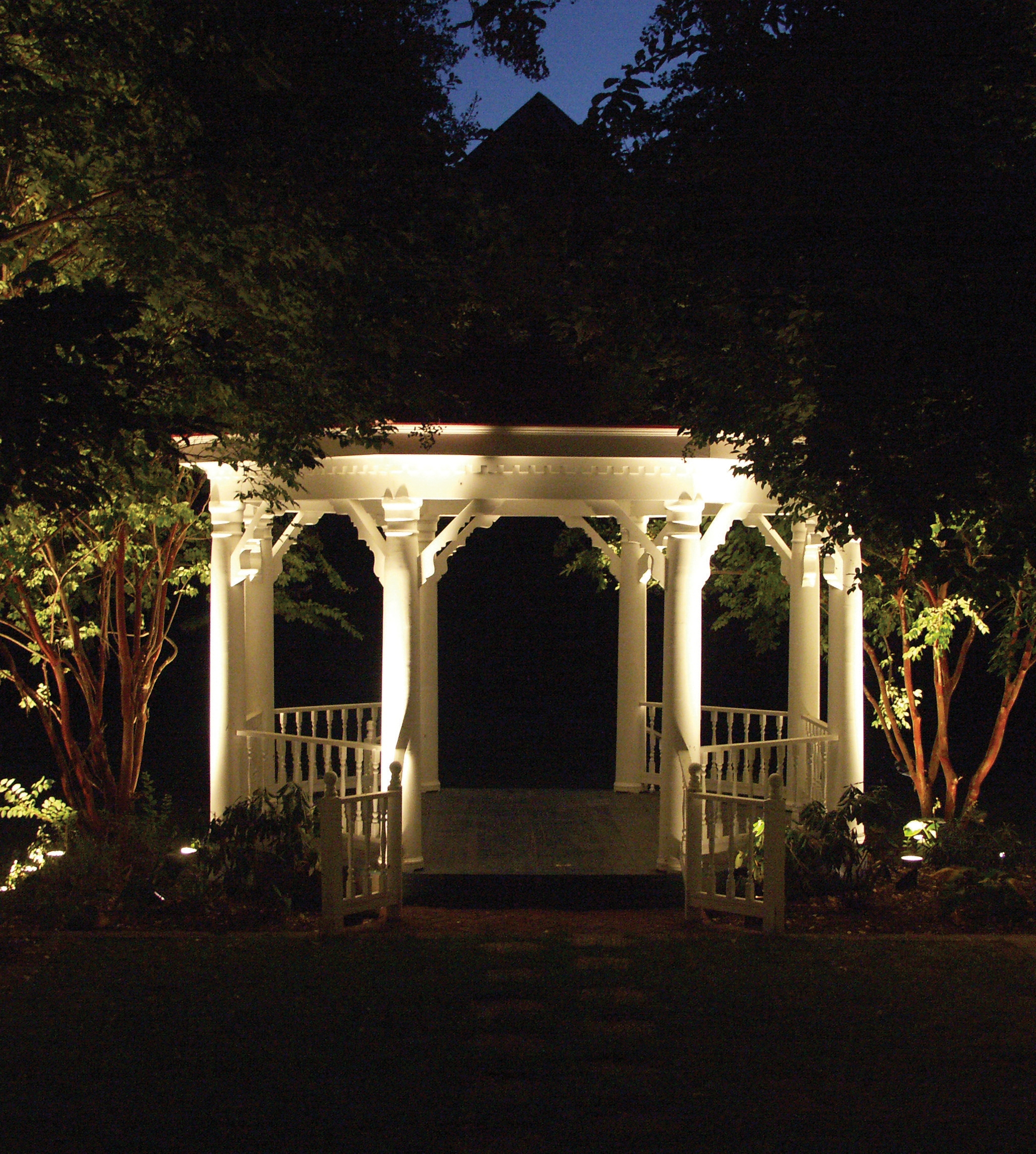 ... Solar String Lights Gazebo