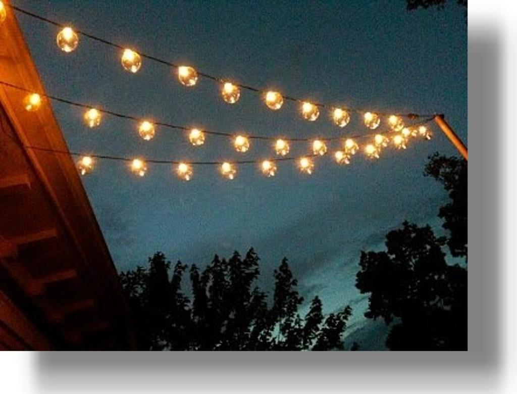 outdoor globe lights photo - 6