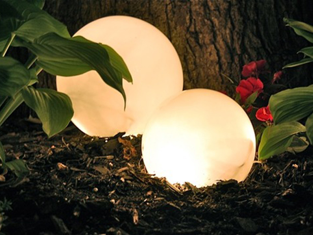 outdoor globe lights photo - 9