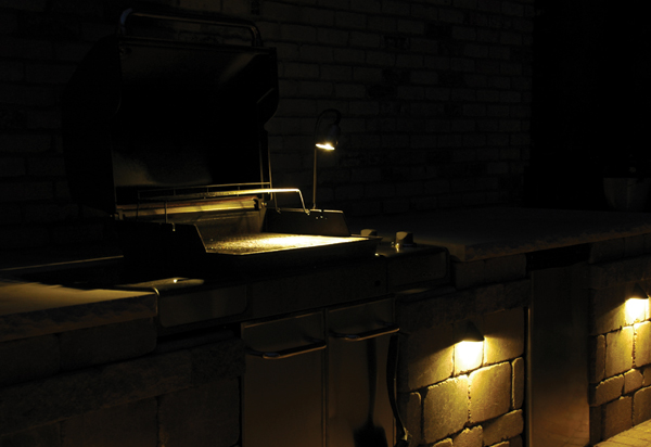 outdoor grill lights photo - 8