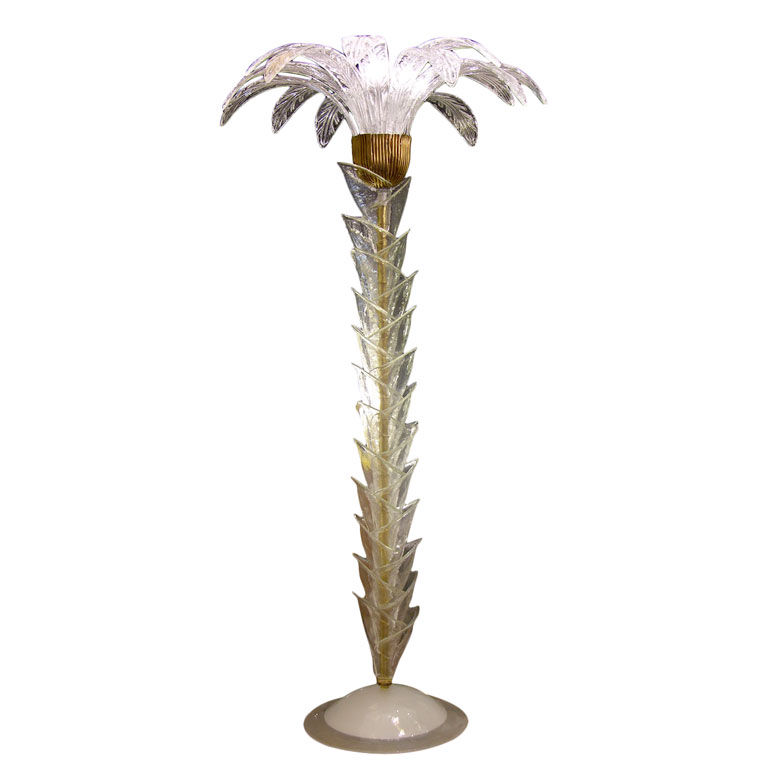 outdoor palm tree lamp photo - 9