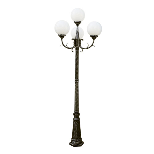 outdoor pole lamps photo - 2