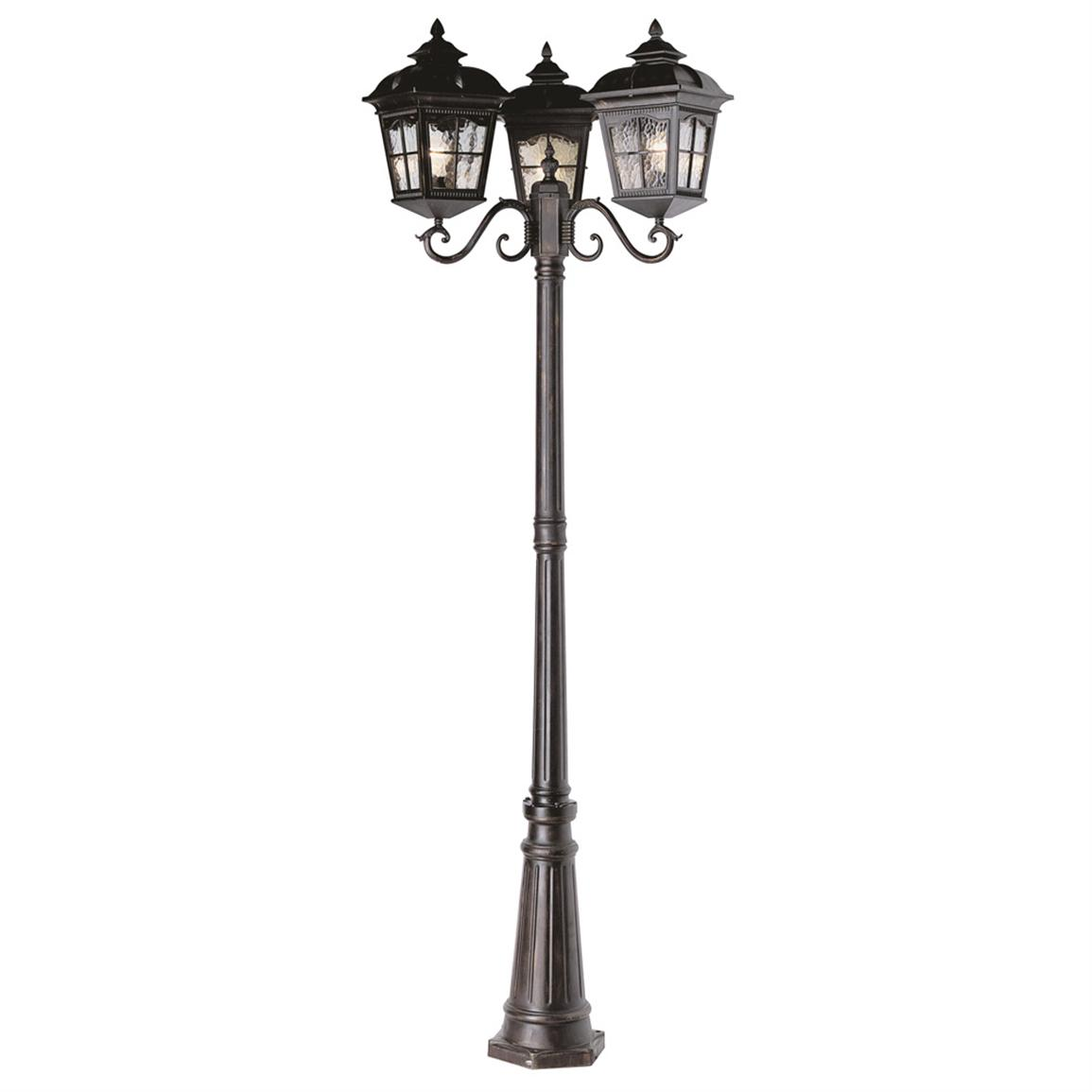 outdoor pole lamps photo - 4