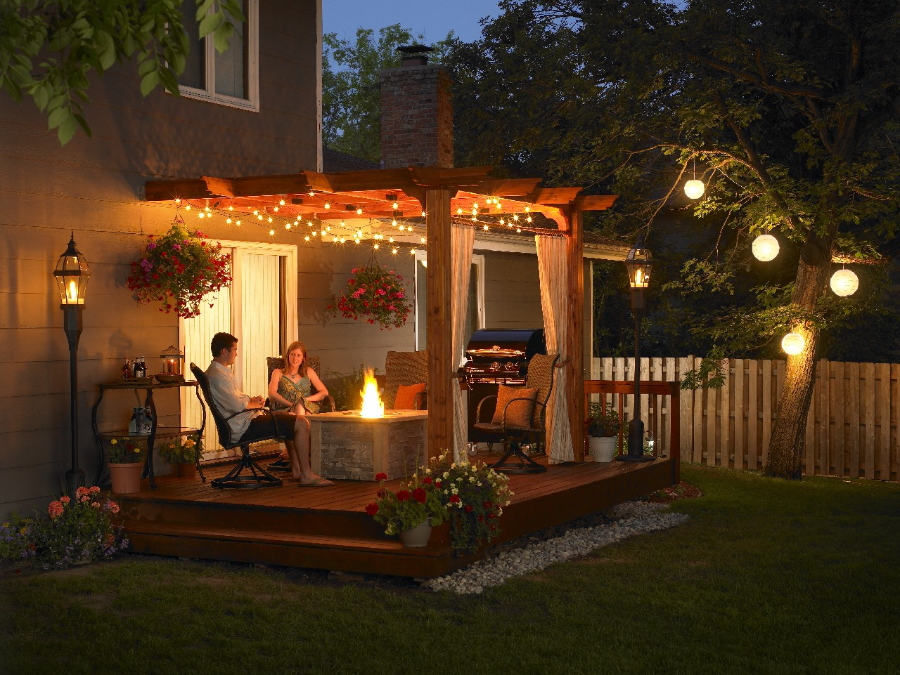 outdoor porch lamps photo - 1