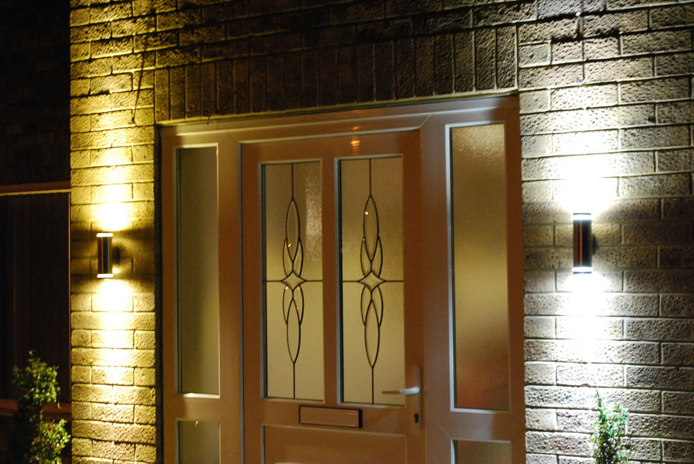 outdoor up and down wall light photo - 3