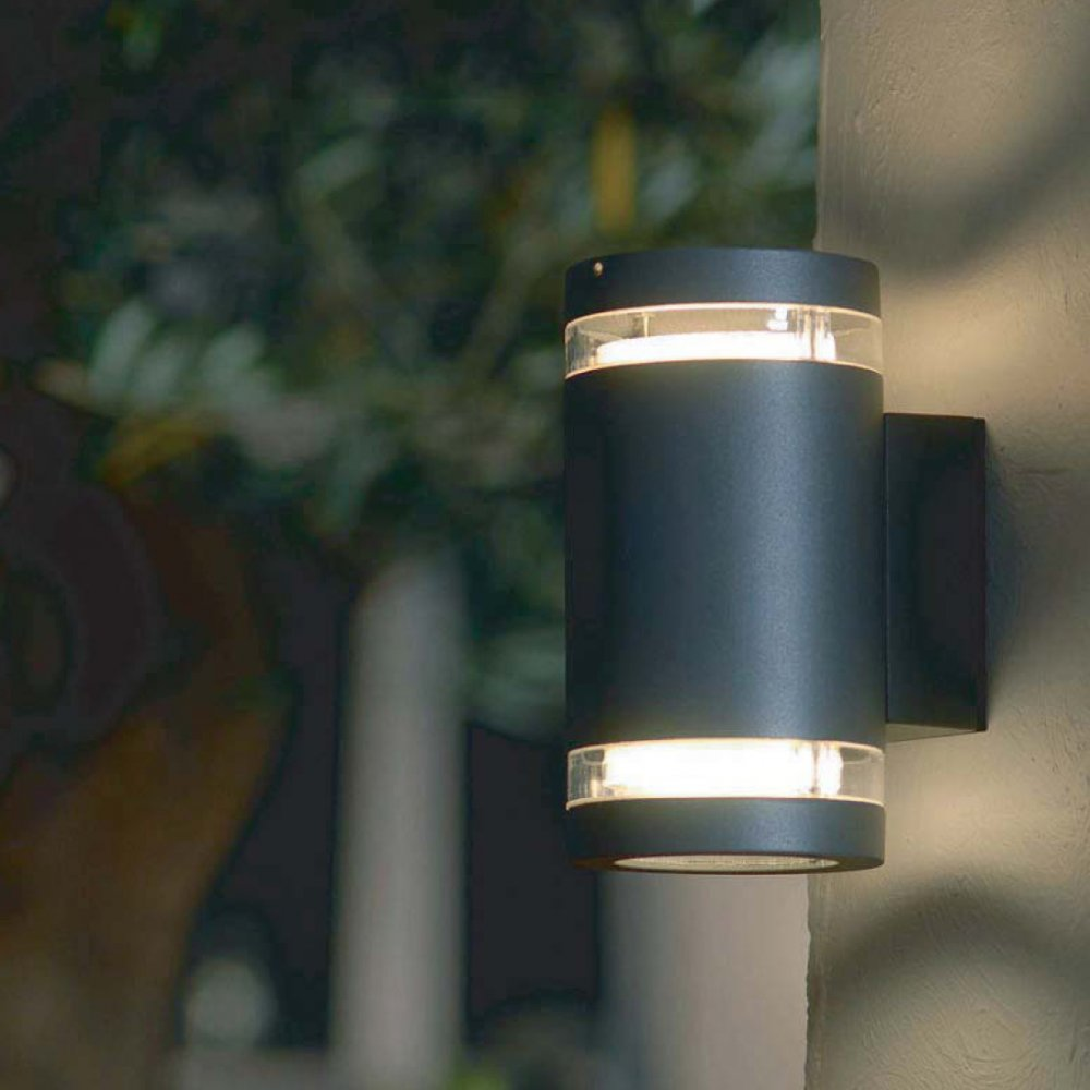 outdoor up and down wall light photo - 4
