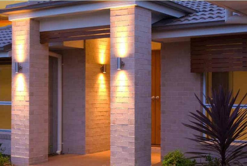 outdoor up and down wall light photo - 6