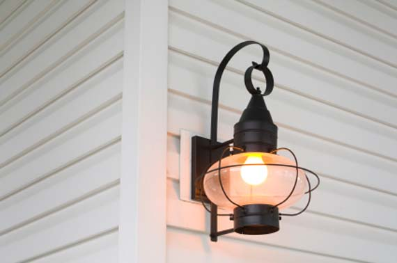 outdoor wall light photo - 8
