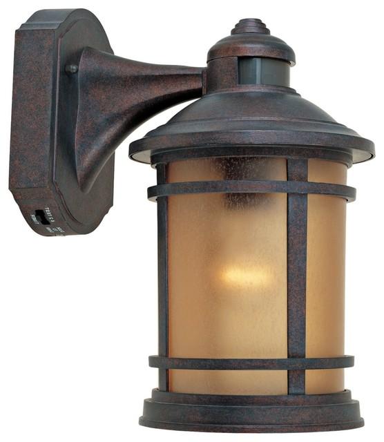outdoor wall light fixtures motion sensor photo - 8