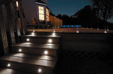 outdoor wall lights led photo - 6