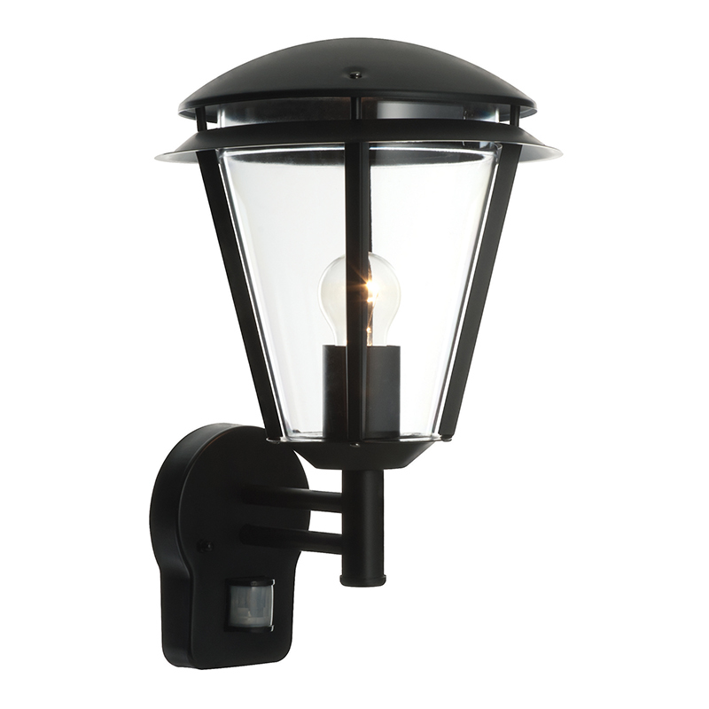 outdoor wall lights with pir photo - 10