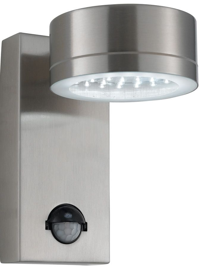 outdoor wall lights with pir photo - 2