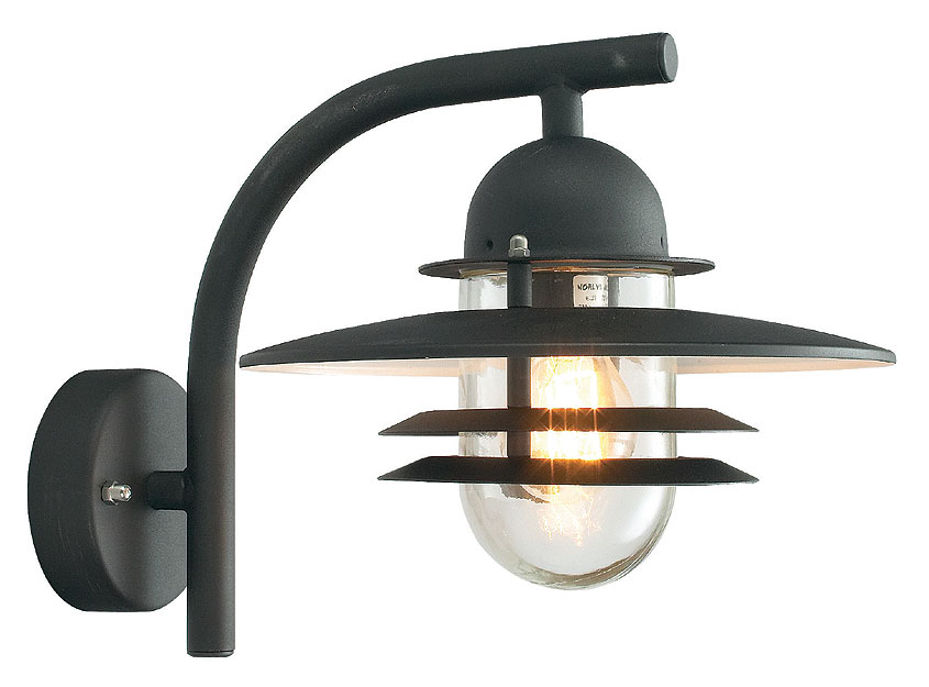 outdoor wall lights with pir photo - 4