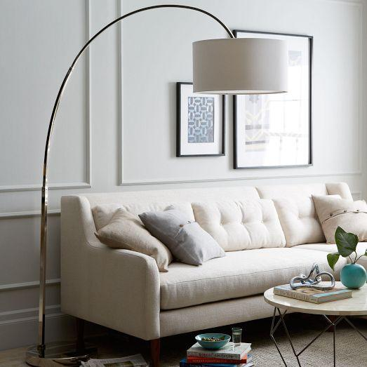 overarching floor lamps photo - 2