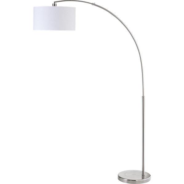 overhang floor lamp photo - 1