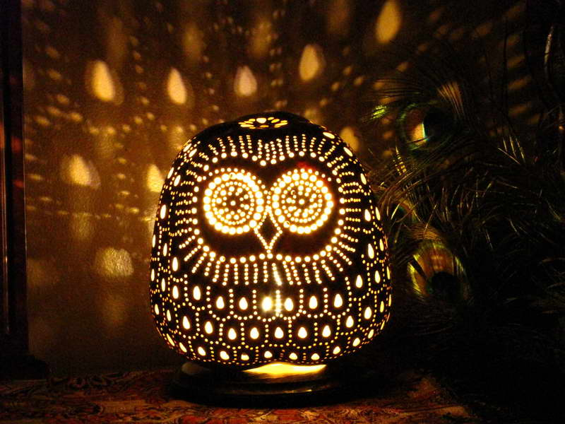 owl lamps photo - 6