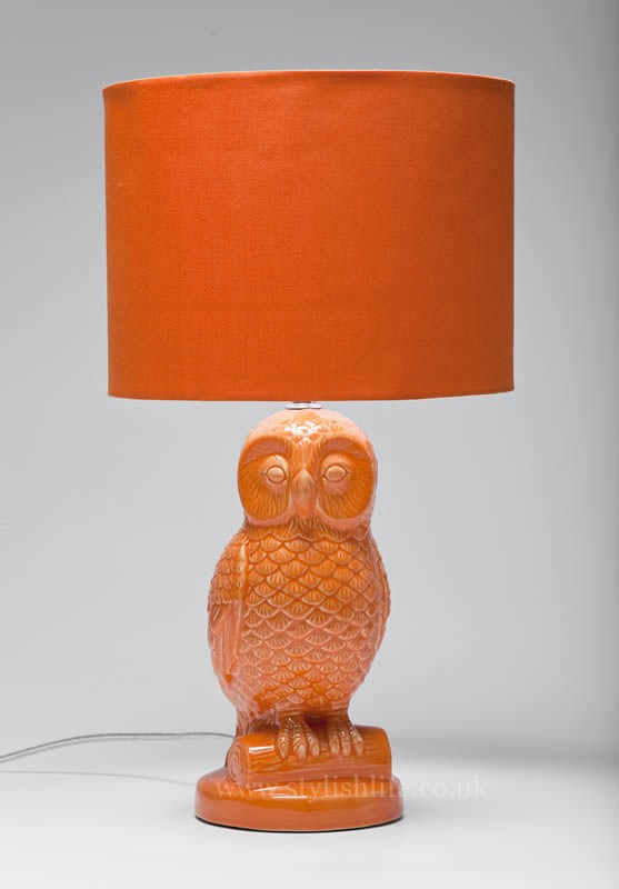 owl table lamp photo - 10