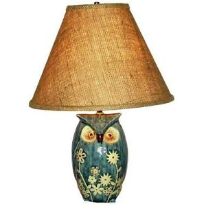 owl table lamp photo - 2