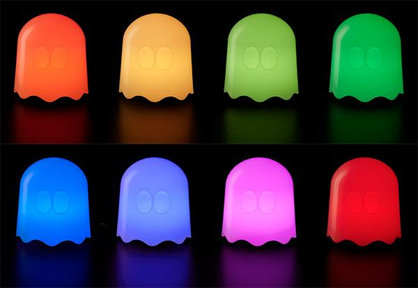pacman ghost lamp photo - 10