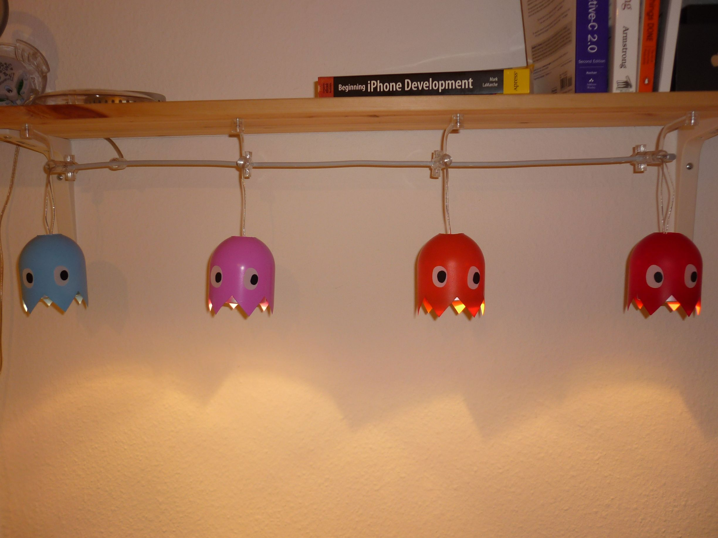 pacman ghost lamp photo - 9