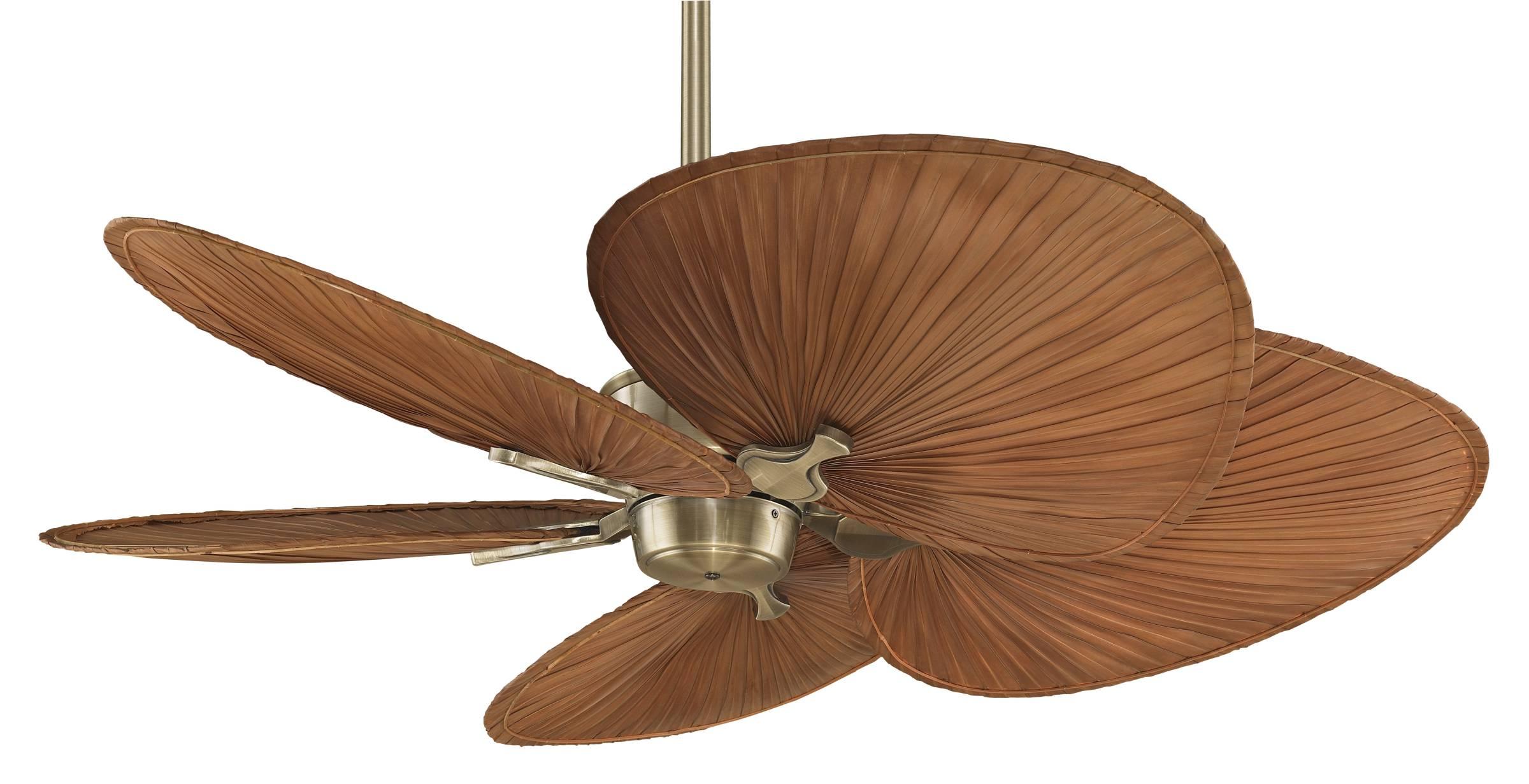 palm leaf ceiling fans photo - 8