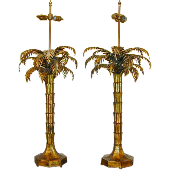 palm tree lamps photo - 5