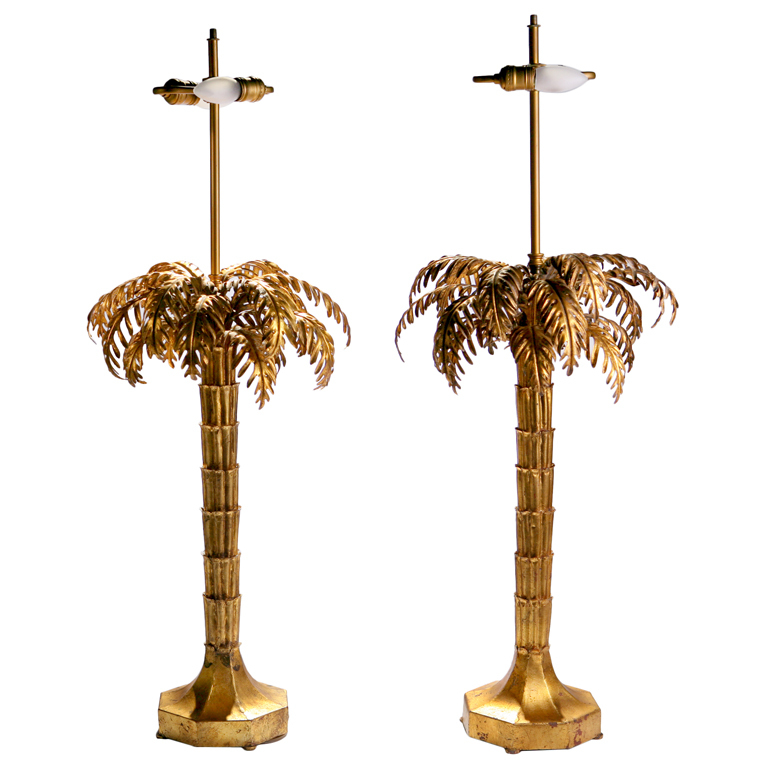 palm tree lamps photo - 7
