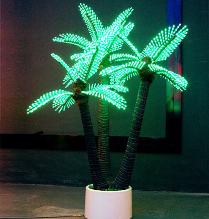 palm tree outdoor lights photo - 4