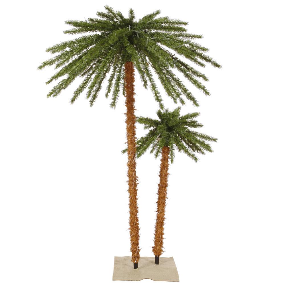 palm tree outdoor lights photo - 5