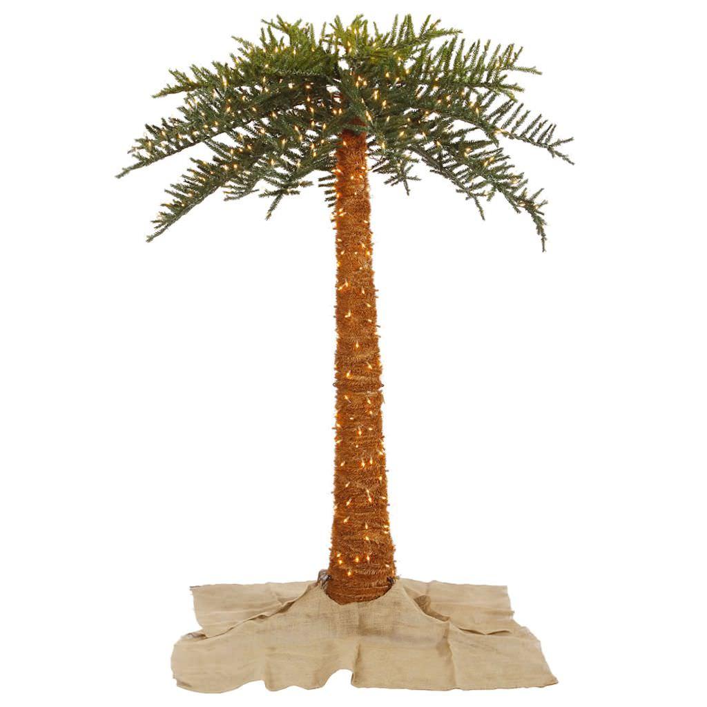 palm tree outdoor lights photo - 9