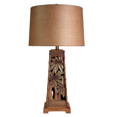 palm tree table lamps photo - 3